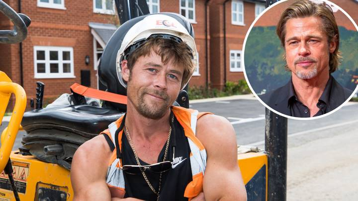 Builder 'Can't Go Anywhere' Because He Looks Too Much Like Brad Pitt