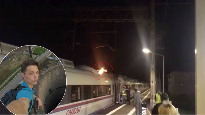 'Train Surfer' Burned Alive On Roof Of 155mph Train Amid Fears For 'Missing Female Companion'