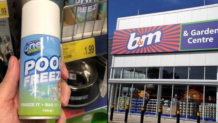 B&M Is Selling Cans Of 'Poop Freeze' For £1.99