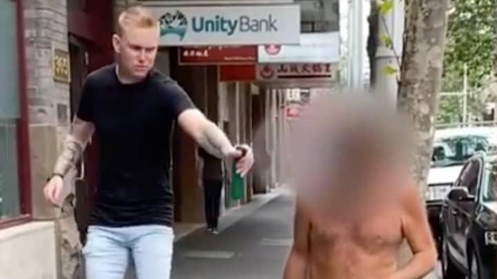 Australian TikTok User Slammed For Prank On Homeless Man