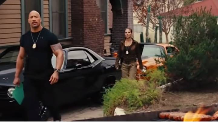Dwayne Johnson Came Up With Hilarious Improvised Line