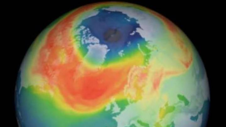 Largest Hole In Ozone Layer Over Arctic Has Finally Closed