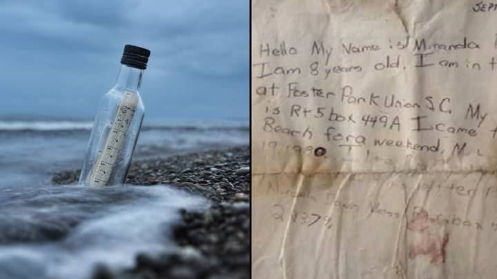 Girl's Message In A Bottle Answered After 29 Years
