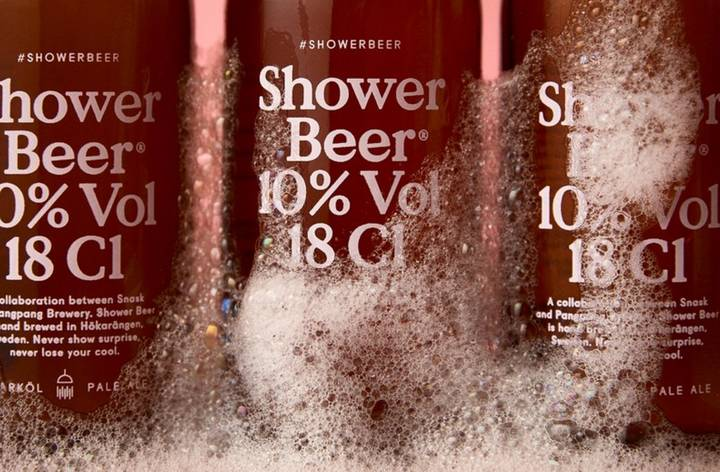 This Beer Is For Drinking In The Shower