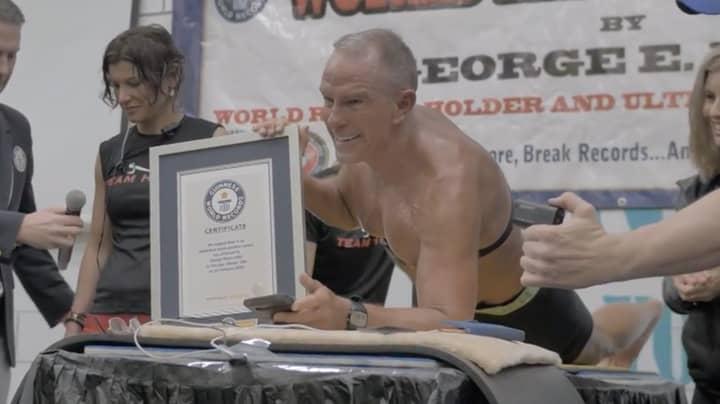 Ex-Marine, 62, Beats Guinness World Planking Record