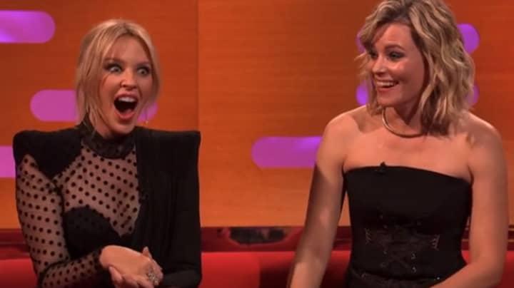 Elizabeth Banks Makes Prince Andrew Joke On The Graham Norton Show