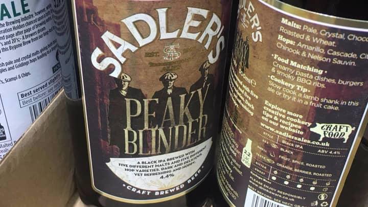 Aldi Is Now Stocking A 'Peaky Blinder' Beer