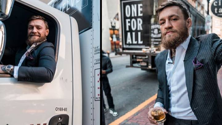 Conor McGregor Gifts World Series Tickets And Whiskey To Boston Firefighters