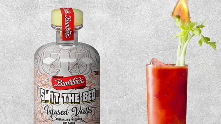 Aussie Company Unveils Hot Sauce-Infused Vodka Called S**t The Bed