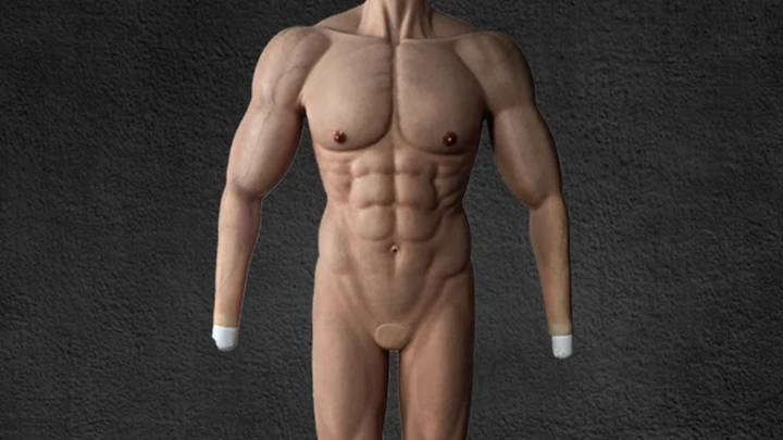 Ripped Body Costume Means Anyone Can Be Hench Without Going To Gym