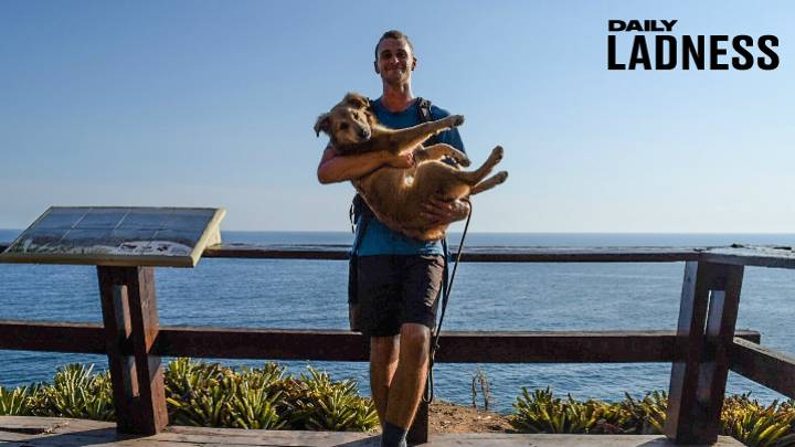 One Man's Epic Bid To Walk Across The World With His Dog
