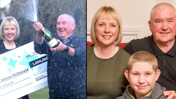 Couple Win £2 Million Jackpot And Find Out Son Is Clear Of Cancer