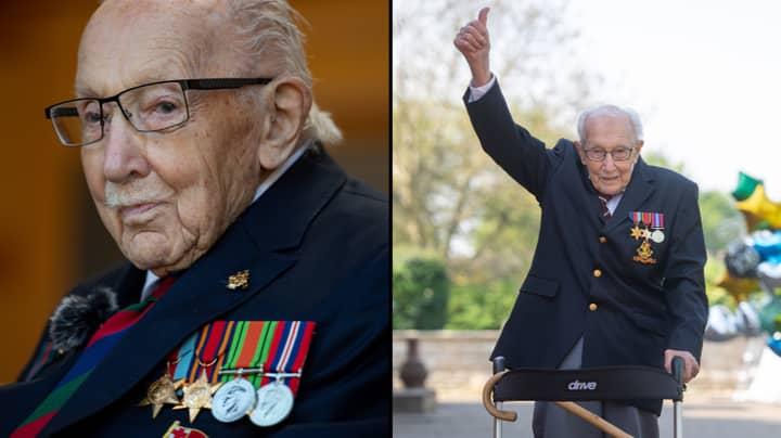 NHS Hero Captain Sir Tom Moore Has Died Aged 100