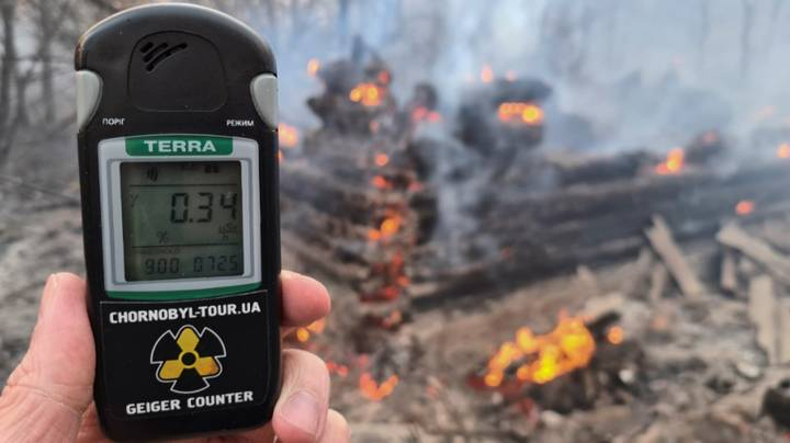 Radiation Near Chernobyl Spikes 16 Times Above Normal Following Fires