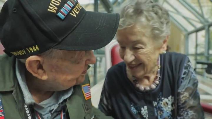 US WW2 Soldier And French Woman Reunited 75 Years After Falling In Love