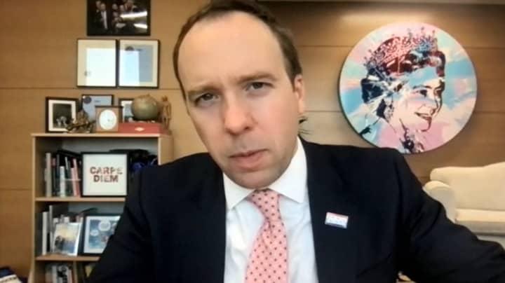 Matt Hancock 'Absolutely Backs' Police Who Fined Women Walking In Park
