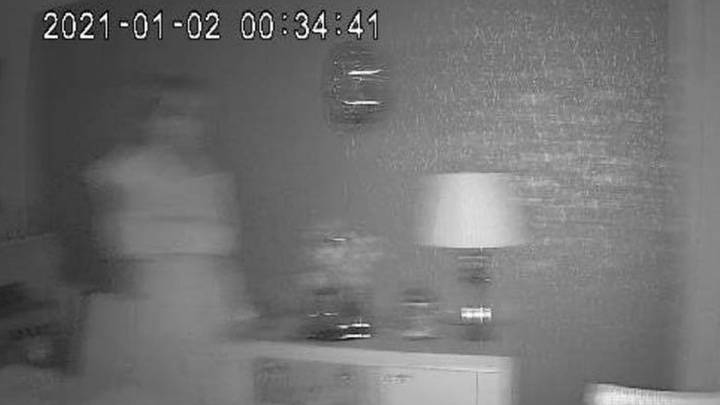 Couple Feel Like Someone Is Watching Them - Then CCTV Captures 'Ghost Bride'