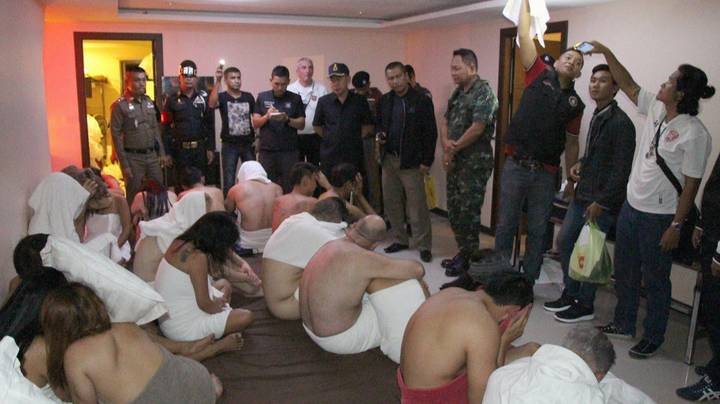Illegal Orgy Sting Highlights Dark Underbelly Of Thailand's Sex Trade