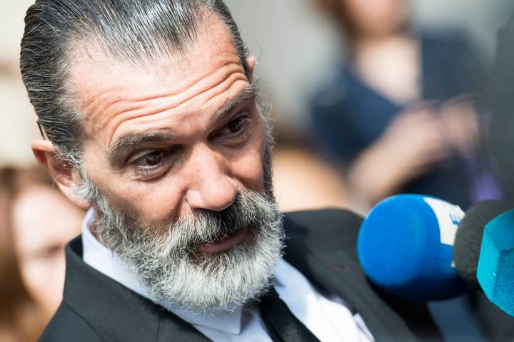Antonio Banderas Looks Very Different After Shaving Off His Hair And Eyebrows