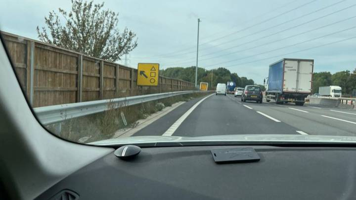 Police Reassure Drivers M4 Signage Will Not Lead To Squid Game