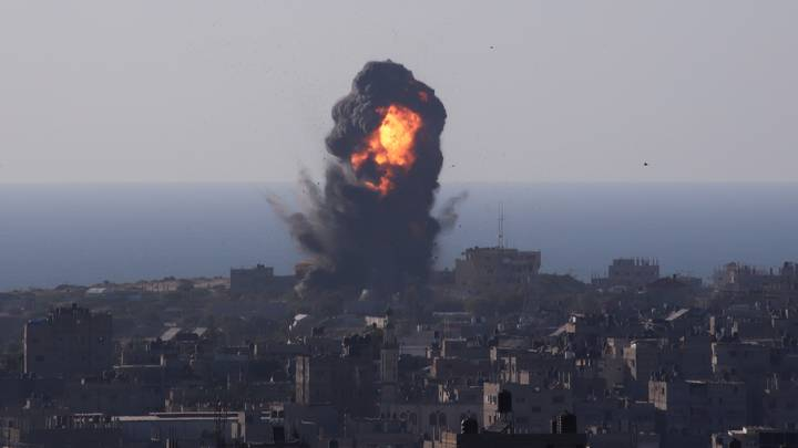 Israeli Troops Launch Ground Offensive At Gaza As Violence Intensifies