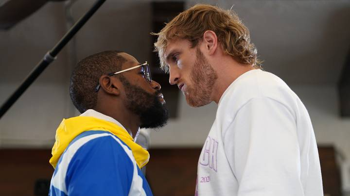 Floyd Mayweather Jr. And Logan Paul Fight Goes Eight Rounds