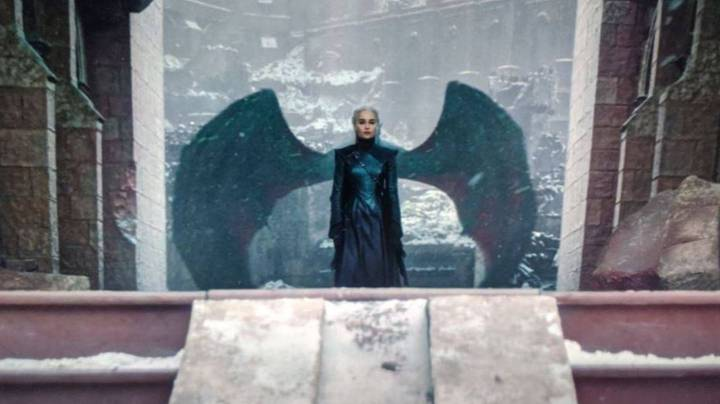 Game Of Thrones Fans Think Daenerys Dragon Wing Shot Was Symbolic