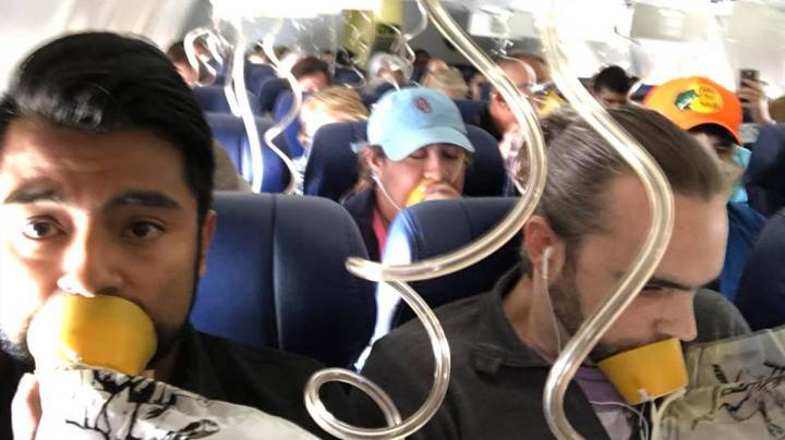 Woman 'Almost Sucked Out Of Plane Window After Engine Explodes' During Flight
