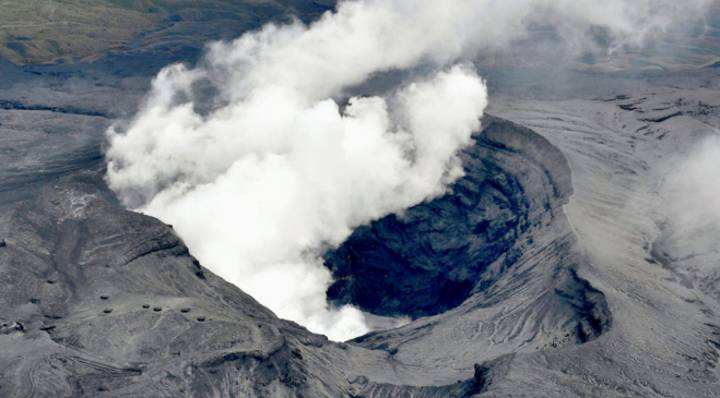 A Massive Volcano Has Erupted In Japan