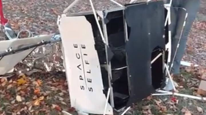 Family Shocked After Equipment From Space Falls Into Their Front Garden