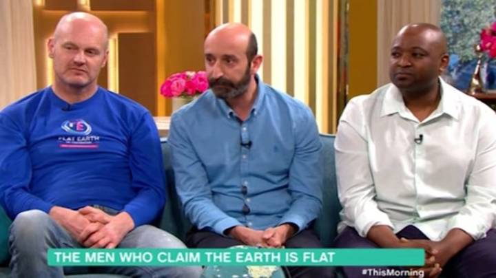 Flat Earthers Claim Tim Peake Didn't Go To Space On 'This Morning'