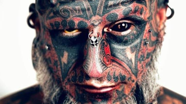 Man Says 95 Percent Of His Body Is Tattooed - Including His Genitals