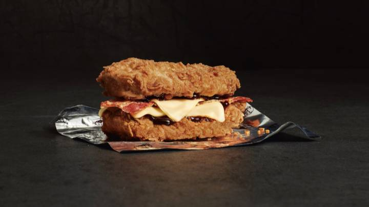 The KFC Double Down Is Returning To The UK - This Is Not A Drill