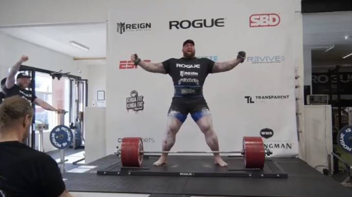 Hafþór Björnsson Sets New Deadlift World Record Of 501kg