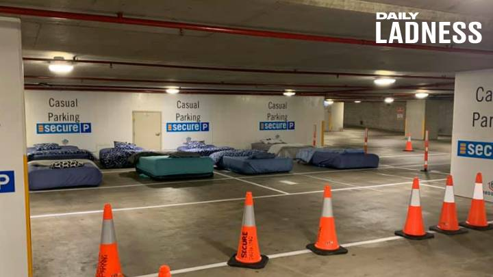 Charity Is Turning Public Places Into Pop-Up Accommodation For The Homeless