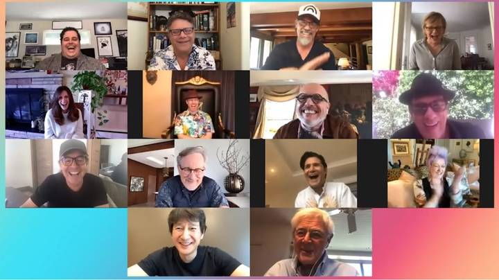 The Goonies Cast And Crew Reunite On Josh Gad's New Web Series