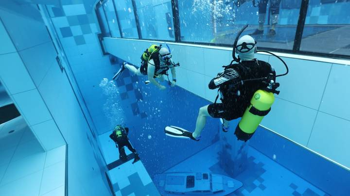 The World's Deepest Pool Has Been Opened In Poland
