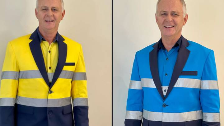 Aussie Bloke Creates Epic Tailored High-Vis Suits