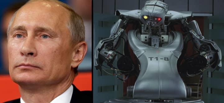 Vladimir Putin Is Building A Robotic Humanoid Tank