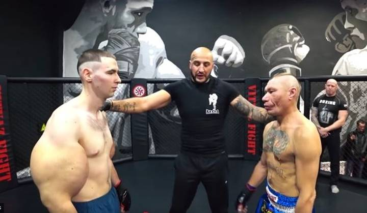 'Popeye' Spotted Training With The 'Russian Hulk' After MMA Defeat