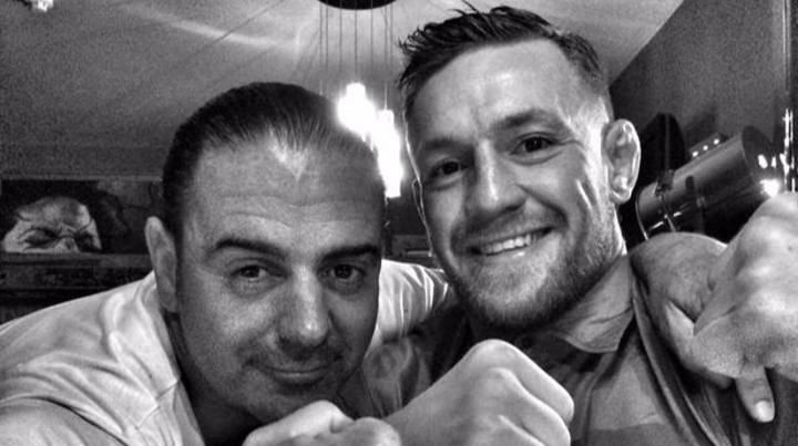 Conor McGregor Joins Hundreds Of Locals At Small Irish Pub