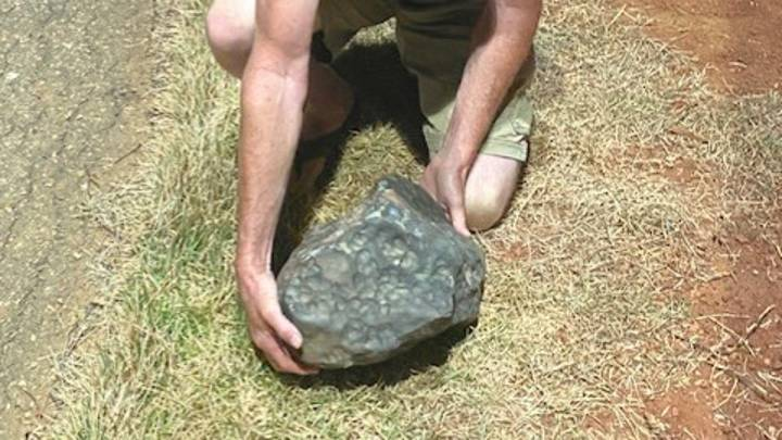 Hundreds Of Meteorite Rocks Worth Up To £20,000 Fall On Town