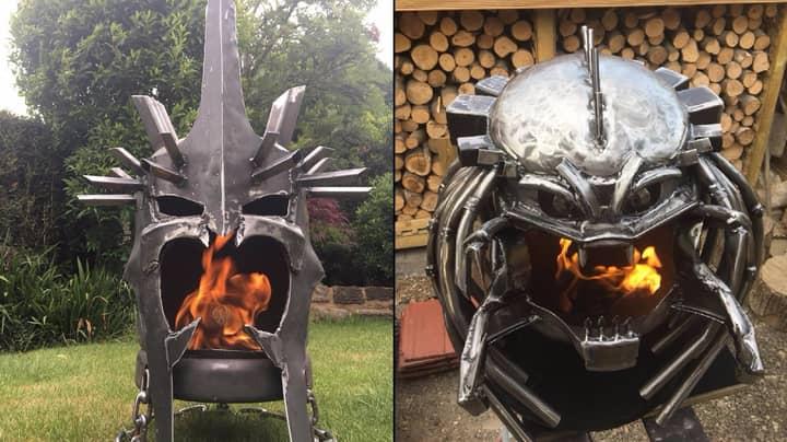 LAD Makes Unreal Homemade Custom Wood Burners Based On Films