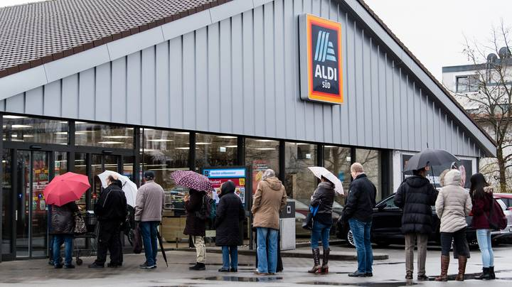 Aldi Limits Customers To Four Of Every Item Amid Panic-Buying