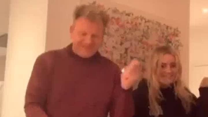 Gordon Ramsay Takes Part In TikTok Dance Craze