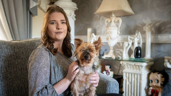 Woman Says Dog 'Sniffed Out' Her Sepsis And Saved Her Life