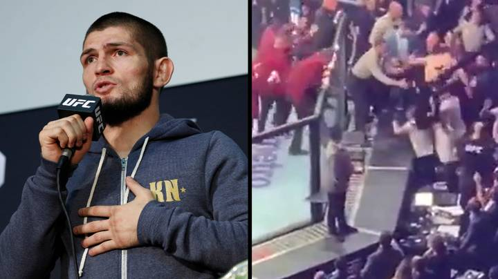 Khabib Speaks Out About Why He Started Mass Brawl At UFC 229