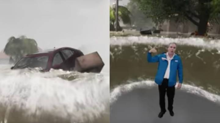 Weather Channel's Incredible 3D Graphics Show Devastating Impact Hurricane Florence Could Have