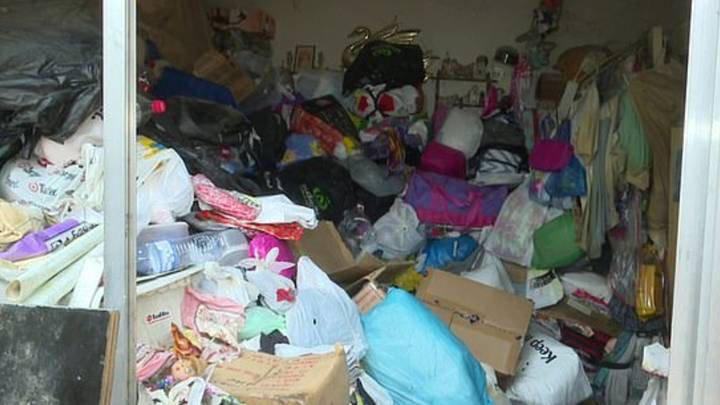 Hoarder Trapped For 15 Hours After Belongings Fell On Top Of Her