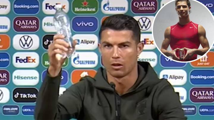 Old Cristiano Ronaldo Coca-Cola Advert Resurfaces After He Removed Bottles At Press Conference